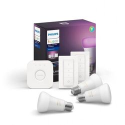 Zestaw podstawowy Philips HUE WHITE AND COLOR AMBIANCE 3xE27/9W/230V