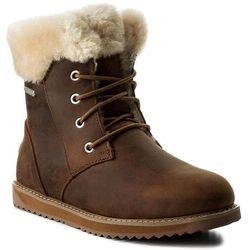 Śniegowce EMU AUSTRALIA - Shoreline Leather Lo W11588 Oak