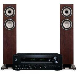 Zestaw stereo ONKYO TX-8270B + TANNOY Revolution XT 6 F Orzech