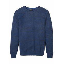 Sweter bonprix niebieski melanż