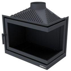 Wkład kominkowy NORDflam Gravena Eko 13 kW żeliwny stalowy prawa szyba