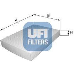 Filtr, wentylacja przestrzeni pasażerskiej UFI 53.045.00