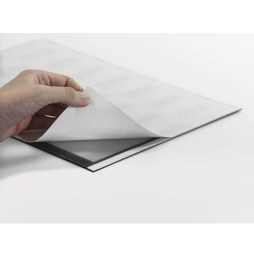 Folie do rzutników, Ramka samoprzylepna Durable Magaframe - 4872, A4/2szt. czarna