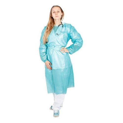 Ubrania medyczne, Jednorazowy fartuch medyczny laminowany 40g (10 szt) 40