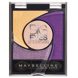 MAYBELLINE Big Eyes cień do powiek 05 Luminous Purple