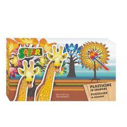 Plastelina STARPAK 10 kolorów Safari