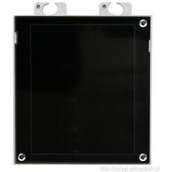 2N IP VERSO - zaślepka dla 1 modułu (czarna)
