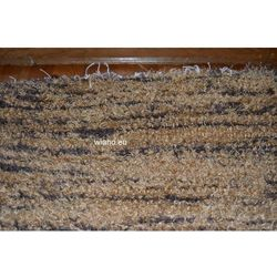 Chodnik bawełniany ręcznie tkany jasno-ciemnobrązowy 65x150 (k-7)