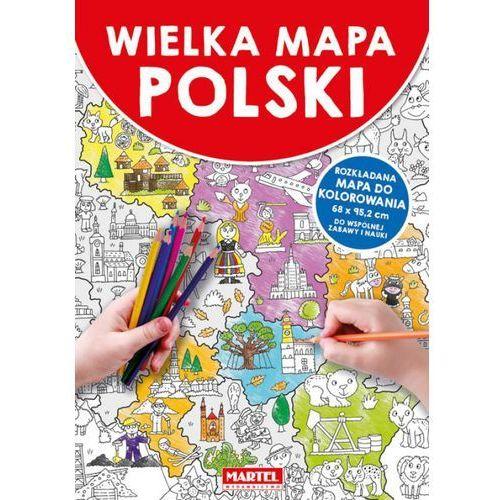 Kolorowanki, Wielka mapa Polski