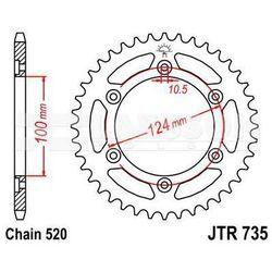 Zębatka tylna stalowa JT 735-36, 36Z, rozmiar 520 2301134 Ducati Supersport 900