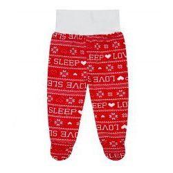 """Półspiochy """"Happy Prints"""" - Love Sleep Czerwony"""