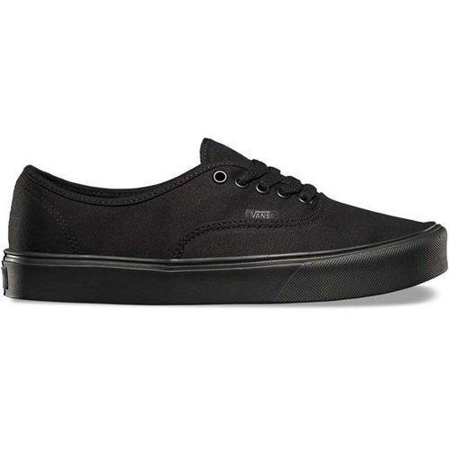 Męskie obuwie sportowe, buty VANS - Authentic Lite (Canvas) Bla (186) rozmiar: 36.5