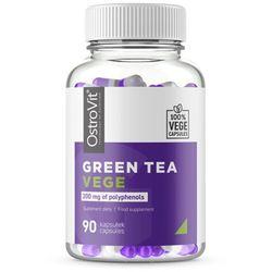 Zielona herbata Green Tea 200 mg polifenoli 90 kapsułek vege 53 g OstroVit