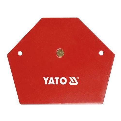 Akcesoria spawalnicze, YATO KĄTOWNIK SPAWALNICZY MAGNETYCZNY 111x136x24mm 0867