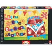 Puzzle, Life is A Beautiful Adventure Puzzle 500