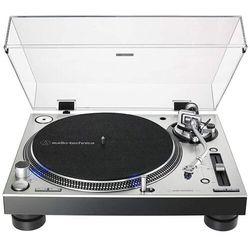 Audio Technica LP140XP SV gramofon, kolor srebrny Płacąc przelewem przesyłka gratis!