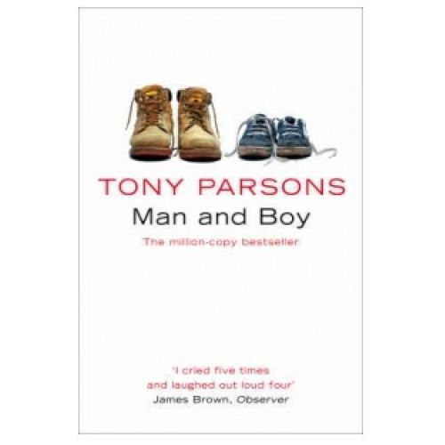 Książki do nauki języka, Man and boy (opr. miękka)
