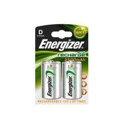 2 x akumulatorki Energizer R20 D Ni-MH 2500mAh