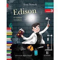 Książki dla dzieci, Czytam sobie. Edison. O wielkim wynalazcy (opr. miękka)