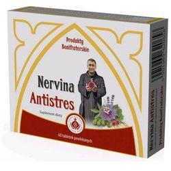 Bonifratrzy - Nervina Antistres z melisą, walerianem i szyszkami chmielu 60tabl.