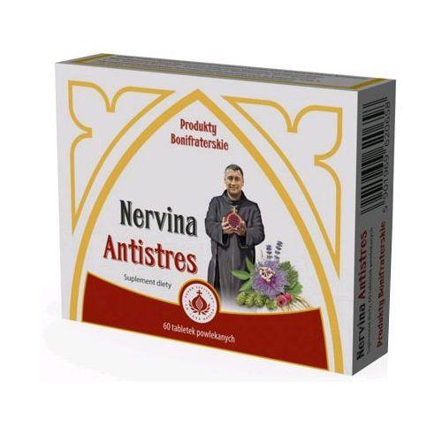 Pozostałe ziołolecznictwo, Bonifratrzy - Nervina Antistres z melisą, walerianem i szyszkami chmielu 60tabl.