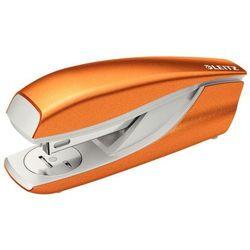 LEITZ WOW Zszywacz średni wzmacniany 5502, metaliczny pomarańczowy