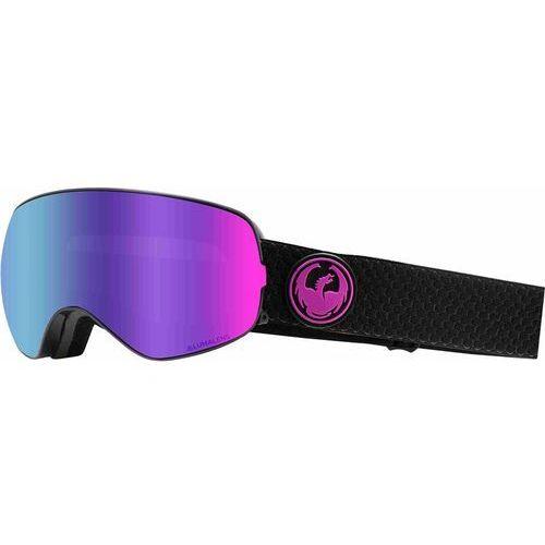 Kaski i gogle, gogle snowboardowe DRAGON - Dr X2S 2 Split Llpurpleion+Llamber (003) rozmiar: OS