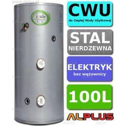 Bojler elektryczny 100L JOULE CYCLONE DIRECT nierdzewka grzałka 2x3kW podgrzewacz CWU bez wężownicy Wysyłka gratis!