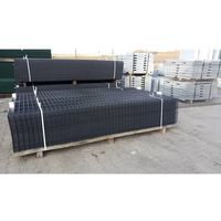 Przęsła i elementy ogrodzenia, Panel ogrodzeniowy grafitowy Fi4 1230x2500 mm