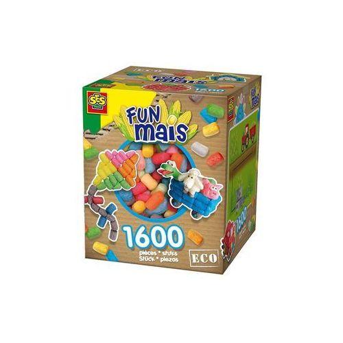 Kreatywne dla dzieci, FunMais - mix kolorów podstawowych 1600szt