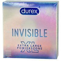 Prezerwatywy, Invisible Extra Large prezerwatywy powiększone 3szt
