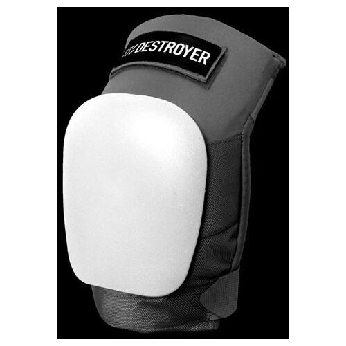 Ochraniacze na ciało, ochraniacz DESTROYER - Pro Knee Grey/White (GRW)