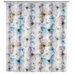 Zasłona prysznicowa Butterfly, PEVA, 180x200 cm, WENKO