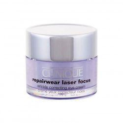 Clinique Repairwear Laser Focus krem pod oczy 15 ml dla kobiet
