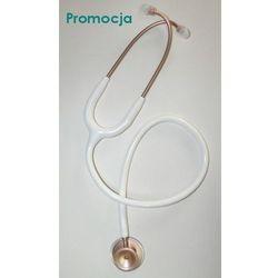 Lekki stetoskop internistyczny MDF Acoustica 747XP MOD - biały - różowe złoto