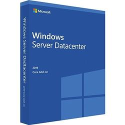 Windows Server 2019 Datacenter 64bit 2 Core Add-ON PL