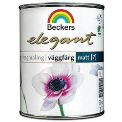 Beckers Elegant Väggfärg Matt [7] Bas A 0,9l