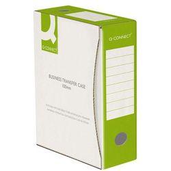 Pudło archiwizacyjne Q-CONNECT, karton, A4/100mm, zielone