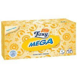 Chusteczki Foxy Mega Ultra miękkie 2 warstwy (200 sztuk)