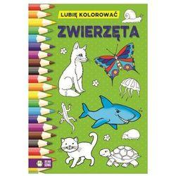 Zwierzęta, Lubię kolorować - Opracowanie zbiorowe OD 24,99zł DARMOWA DOSTAWA KIOSK RUCHU