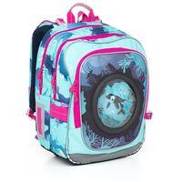 Tornistry i plecaki szkolne, Plecak szkolny Topgal CHI 790 D - Blue