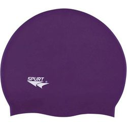 Czepek silikonowy SPURT SH77 Jednokolorowy Purpurowy