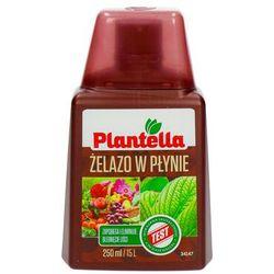 Żelazo w płynie dla roślin. Nawóz z żelazem Plantella 250ml.