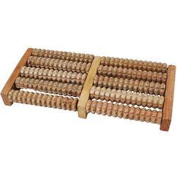 Masażer do akupresury stóp drewniany tradycyjny