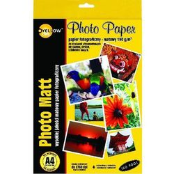 Papier FOTO YELLOW ONE A4 190 g/m matowy - X02355