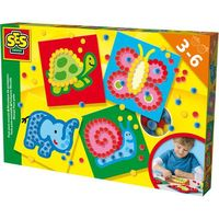 Kreatywne dla dzieci, SES Mozaika z koralików
