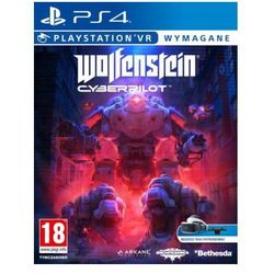Wolfenstein: Cyberpilot VR Gra playstation 4 CENEGA