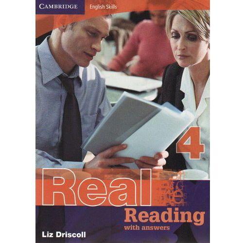Książki do nauki języka, Cambridge English Skills Real Reading 4 Paperback with Answers (opr. miękka)