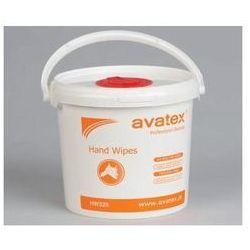 Ściereczki nasączone do rąk Avatex Hand Wipes - wiaderko 200 sztuk
