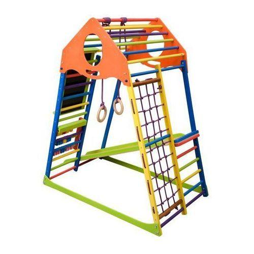 Sprzęt do gimnastyki, Wielofunkcyjny plac zabaw dla dzieci Kindwood Set Plus Insportline